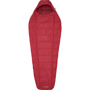 VAUDE Sioux 400 Syn S Sleeping Bag dark indian red dark indian red