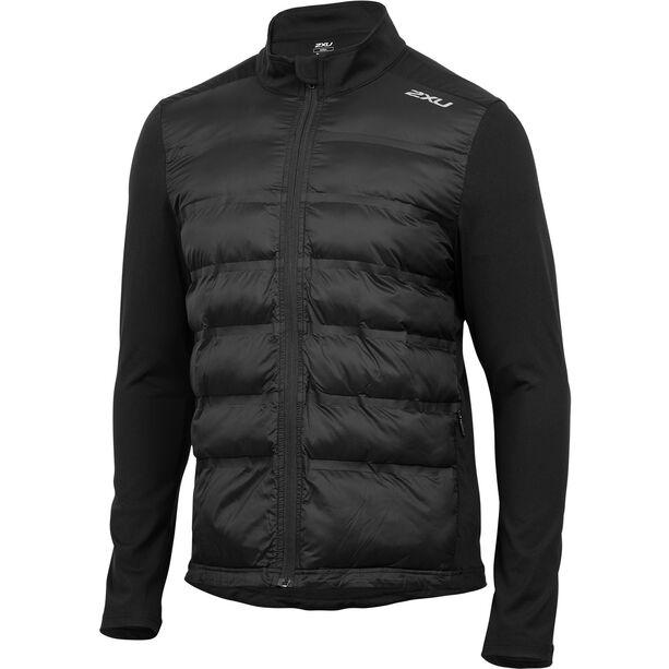 2XU Heat Half Puffer Jacket Herren black/black