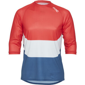 POC Essential Enduro 3/4 Light Jersey Herren prismane multi red prismane multi red