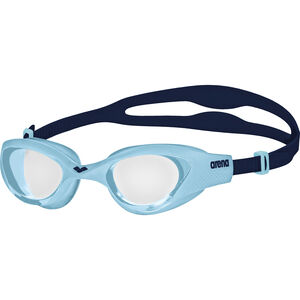 arena The One Goggles Kinder clear-cyan-blue clear-cyan-blue