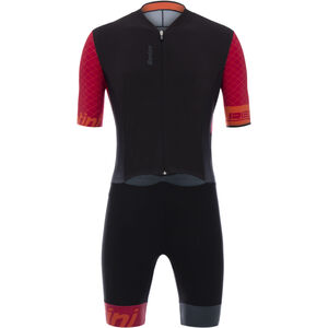 Santini Redux SS Trisuit Men red