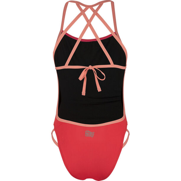 speedo Neon Freestyler Swimsuit Damen red/orange red/orange