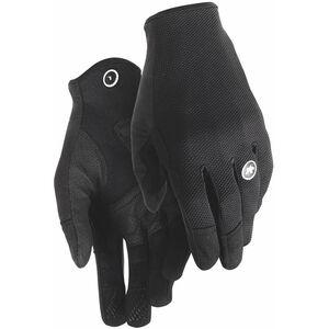assos Trail Full Finger Gloves black series black series