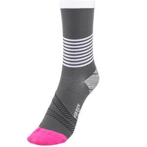 FOR.BICY Ring Master Socks Damen grey/white/pink grey/white/pink