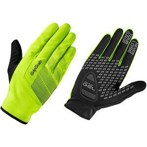 GripGrab Ride Hi-Vis Windproof Midseason Gloves fluo yellow fluo yellow