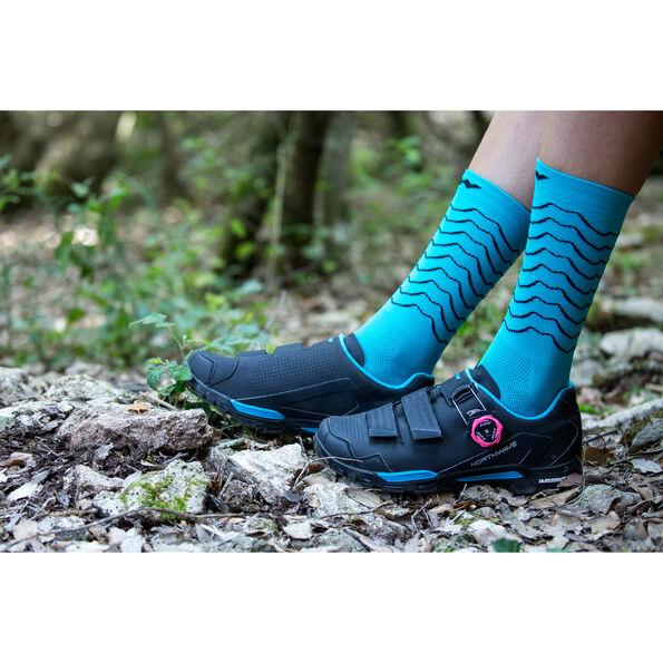 Northwave Outcross 2 Plus Shoes Damen black/aqua