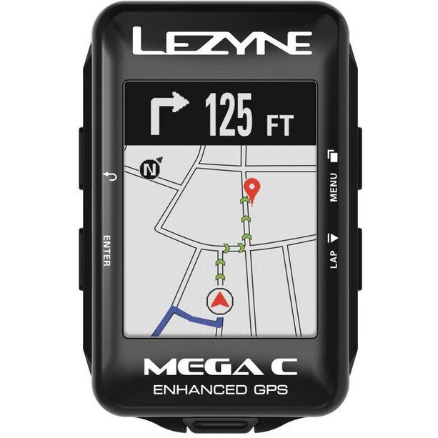 Lezyne Mega Colour GPS Computer schwarz