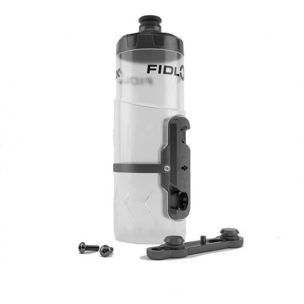 Fidlock Twist Flaschen Set 600ml inkl. Halterung clear
