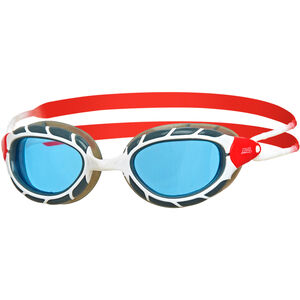 Zoggs Predator Goggles white/red/tint white/red/tint