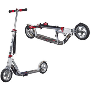 HUDORA Big Wheel Air City Scooter Kinder weiß/silber weiß/silber