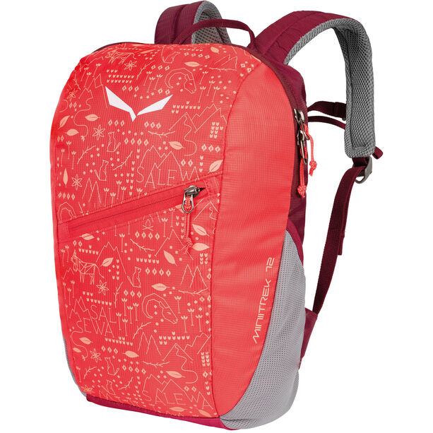 SALEWA Minitrek 12 Backpack Kinder hot coral