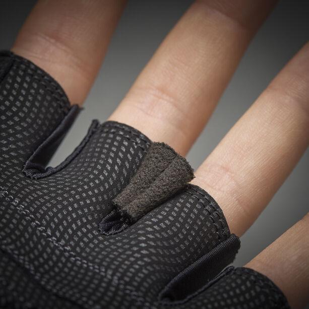 GripGrab Rouleur Gepolsterte Kurzfinger-Handschuhe black