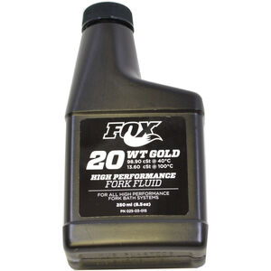 Fox Racing Shox 20 WT Gold Suspensions Öl 250ml
