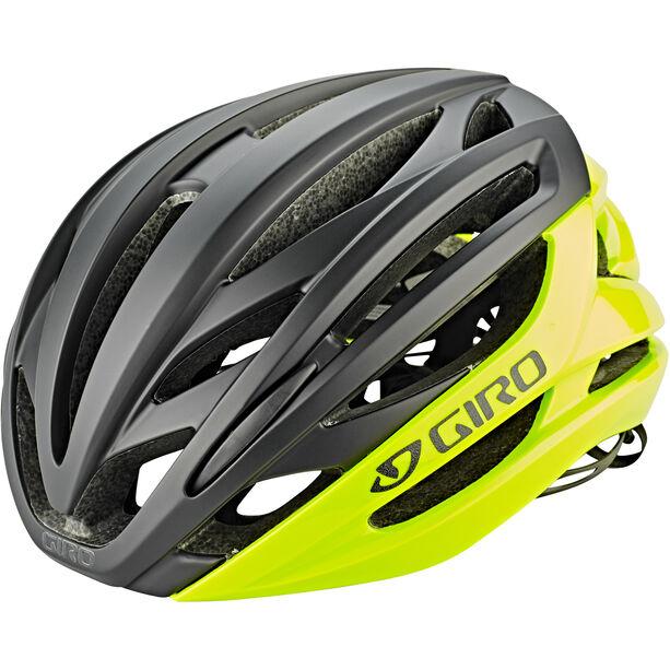 Giro Syntax Helmet highlight yellow/black