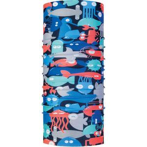 Buff Coolnet UV+ Neck Tube Kinder shoal blue shoal blue