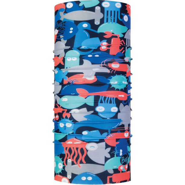 Buff Coolnet UV+ Neck Tube Kinder shoal blue