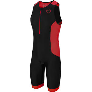 Zone3 Aquaflo Plus Trisuit Herren black/grey/red black/grey/red