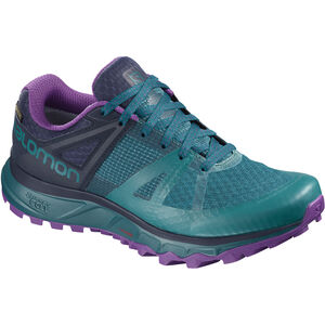 Salomon Trailster GTX Shoes Damen deep lagoon/navy blazer/purple magic deep lagoon/navy blazer/purple magic