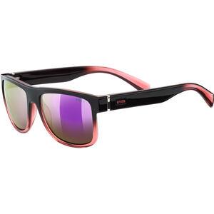UVEX LGL 21 Glasses black rose/mirror pink bei fahrrad.de Online
