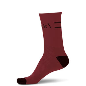RYKE Mid Cut Socken red red