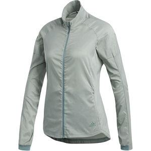 adidas Supernova Confident 3 Season Jacket Women Raw Green/Colored Heather bei fahrrad.de Online