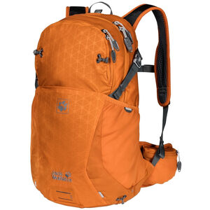 Jack Wolfskin Moab Jam 24 Backpack orange grid orange grid