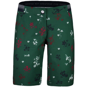 Maloja NeisaM. Printed Multisport Shorts Damen stone pine mountain meadow stone pine mountain meadow