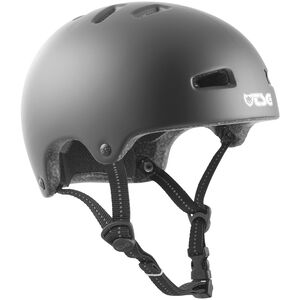 TSG Nipper Mini Solid Color Helmet Kinder satin black satin black