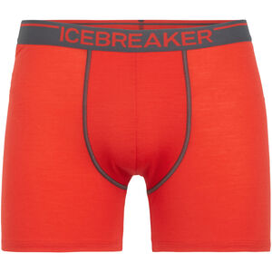 Icebreaker Anatomica Boxer Men Chili Red/Monsoon bei fahrrad.de Online