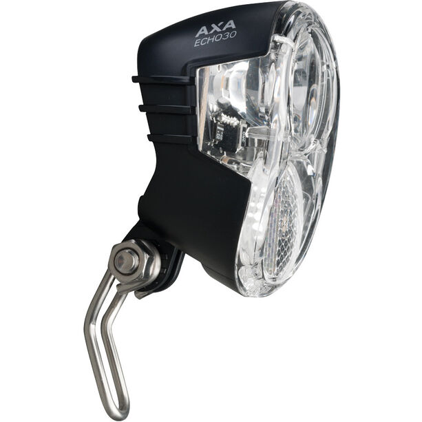 Axa Echo 30 Scheinwerfer für Nabendynamo mit Halter und Kabel
