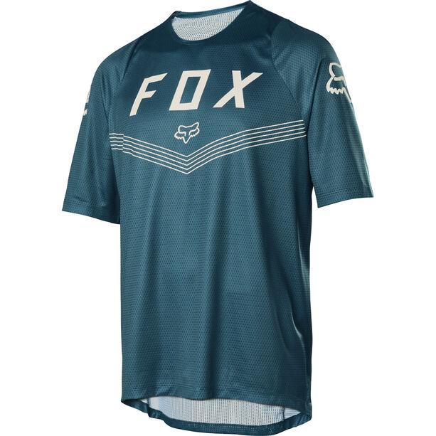 Fox Defend Fine Line SS Jersey Herren maui blue