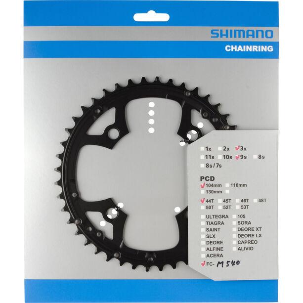 Shimano MTB FC-M540 Kettenblatt für Kettenschutzring schwarz