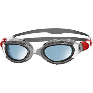Zoggs Predator Flex Goggles S silver/grey/blue tint silver/grey/blue tint