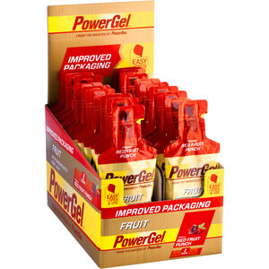 PowerBar New PowerGel Fruit Box Red Fruit Punch 24 x 41g