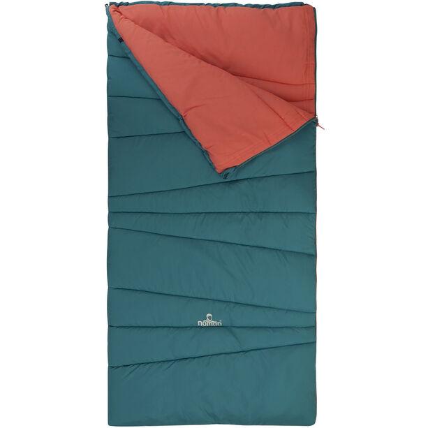 Nomad Melville Junior Sleeping Bag Kinder biscaya green/shell pink