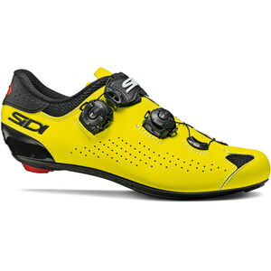 Sidi Genius 10 Schuhe Herren black/yellow fluo black/yellow fluo