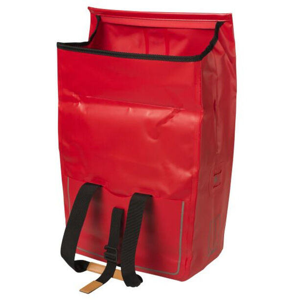 Basil Urban Dry Luggage Pannier Shopper 25l signal red