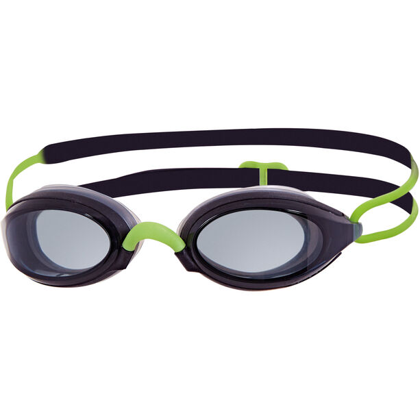 Zoggs Fusion Air Goggles Damen black/green/smoke