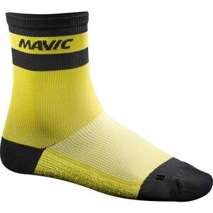 Mavic Ksyrium Carbon Socks yellow mavic yellow mavic