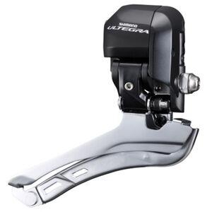 Shimano Ultegra Di2 FD-6870 Umwerfer 2-fach schwarz/grau bei fahrrad.de Online