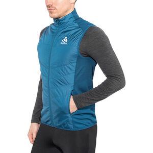 Odlo Irbis X-Warm Hybrid Vest Seamless Men poseidon-blue jewel bei fahrrad.de Online