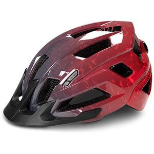 Cube Steep Helmet glossy grey'n'red bei fahrrad.de Online