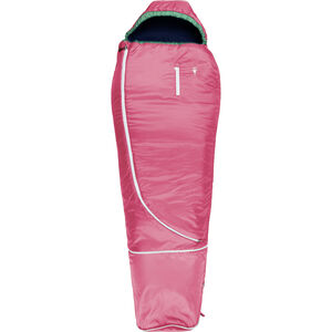 Grüezi-Bag Biopod Woll World Traveller Sleeping Bag Kids claret red