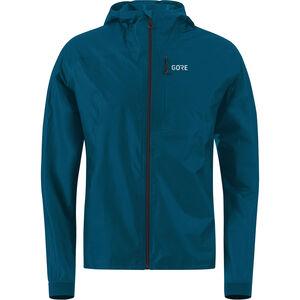 GORE WEAR R7 Gore-Tex Shakedry Hooded Jacket Men pacific blue bei fahrrad.de Online