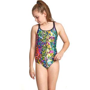 Zoggs Zany Skin Duoback Swimsuit Mädchen multi multi