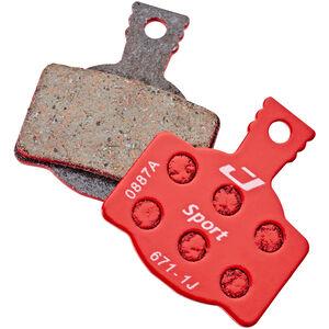 Jagwire Sport Semi-Metallic Bremsbeläge für Magura MT8/MT6/MT4/MT2/MT Trail Rear 1 Paar rot rot