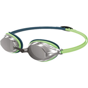speedo Vengeance Mirror Brille nordic teal/green glow/silver nordic teal/green glow/silver