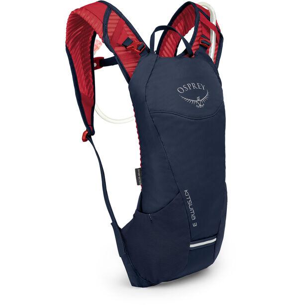Osprey Kitsuma 3 Hydration Backpack Damen blue mage