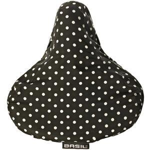 Basil Katharina Sattelbezug black + dots