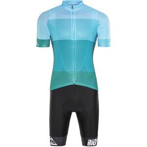 Red Cycling Products Colorblock Race Set Men green-blue bei fahrrad.de Online
